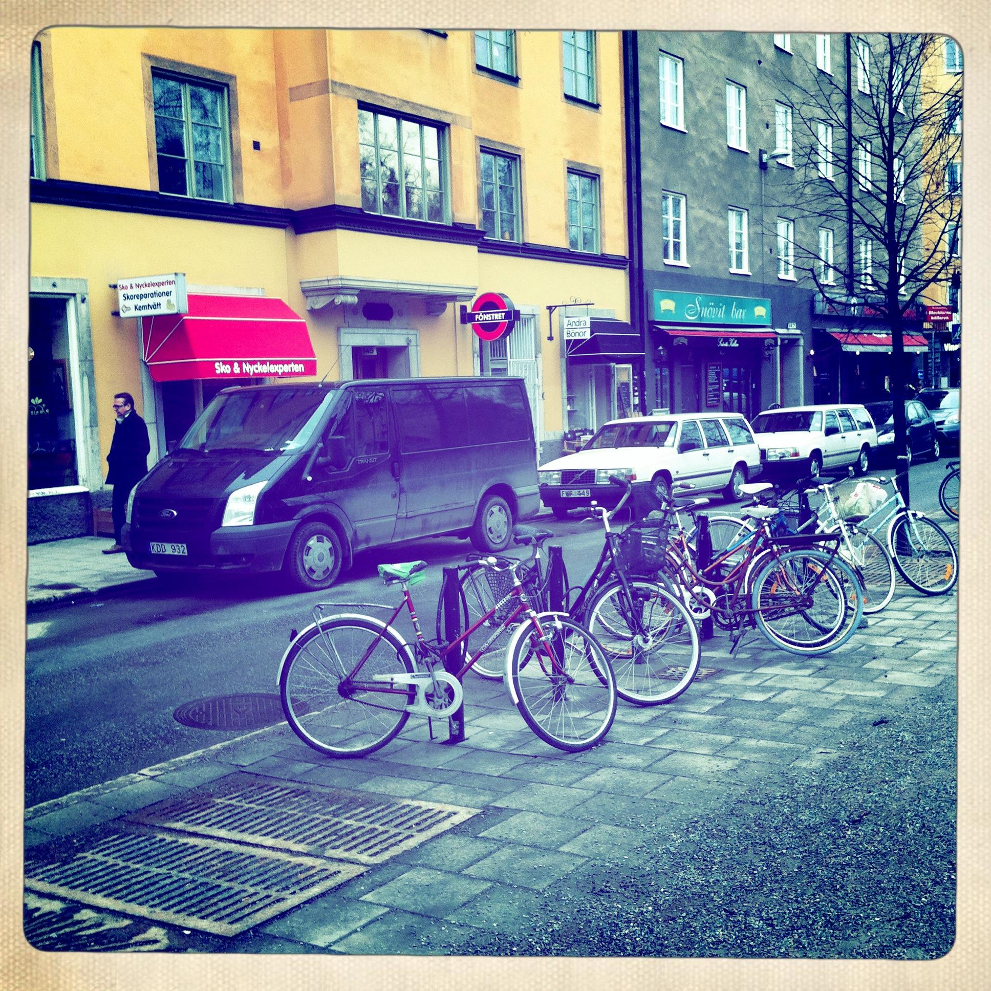 Cyklar Ringvägen